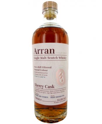 Whisky Arran Sherry Cask 55,8%