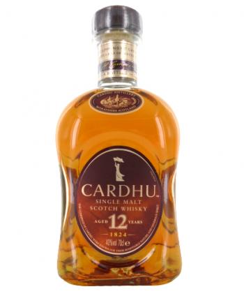 Whisky Cardhu 12 ans 40%