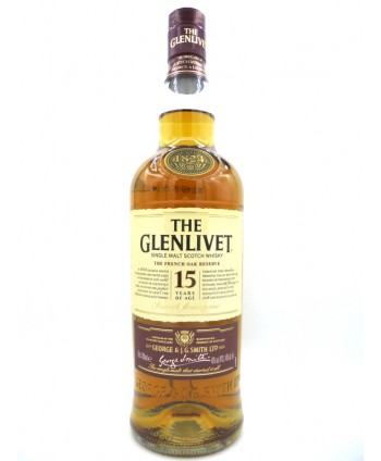 Whisky The Glenlivet 15 ans...