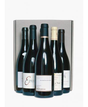 Box 6 bouteilles de vins