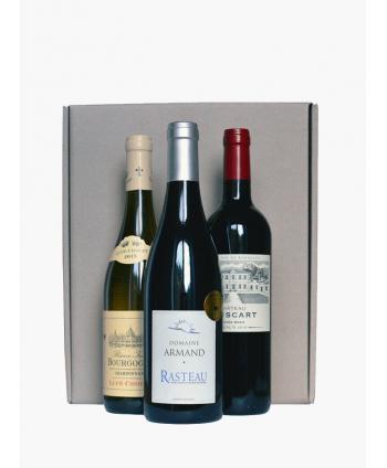 Box 3 bouteilles