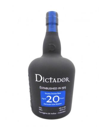 Rhum Dictador 20 ans 40%