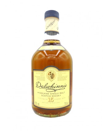 Whisky Dalwhinnie 15 ans 43%